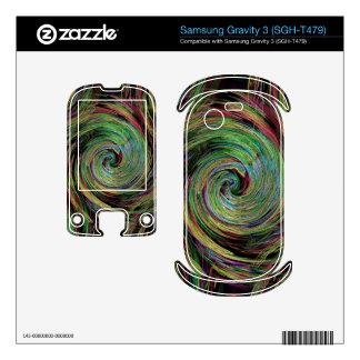 Weather Samsung Gravity 3 Skins