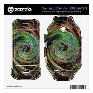 Weather Samsung Eternity II Decal