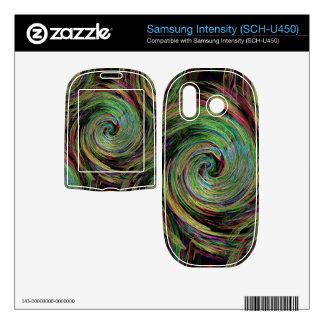Weather Samsung Intensity II Skin