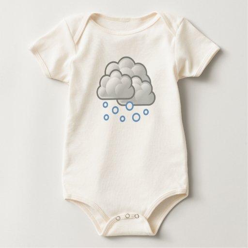 Weather Snow Baby Bodysuit