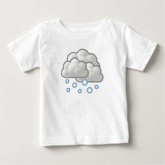 Weather Snow Baby T-Shirt