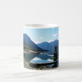Weather Station at Mountain Lake Magic Mug