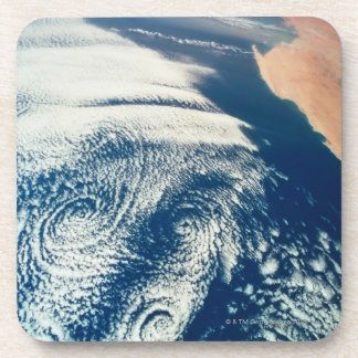 Weather Systems Above Earth 2 Drink Coasters
