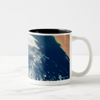 Weather Systems Above Earth 2 Two-Tone Coffee Mug