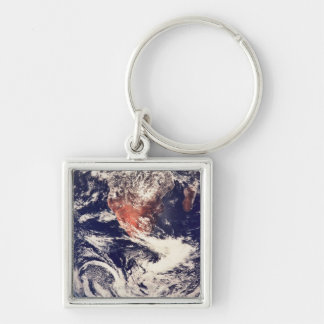 Weather Systems Above Earth 3 Key Chains