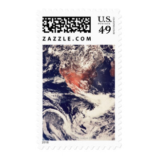 Weather Systems Above Earth 3 Postage