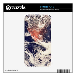 Weather Systems Above Earth 3 Skin For The iPhone 4S