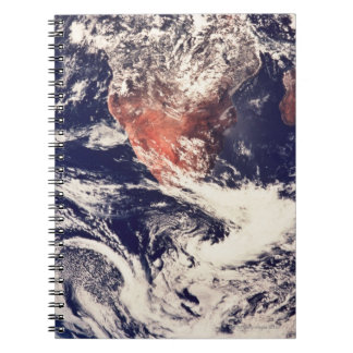 Weather Systems Above Earth 3 Spiral Notebooks