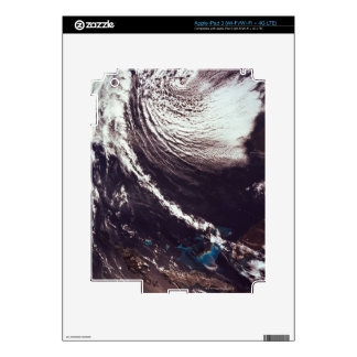 Weather Systems Above Earth iPad 3 Skins