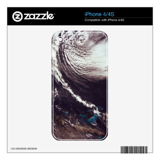 Weather Systems Above Earth iPhone 4 Skins