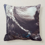 Weather Systems Above Earth Pillow