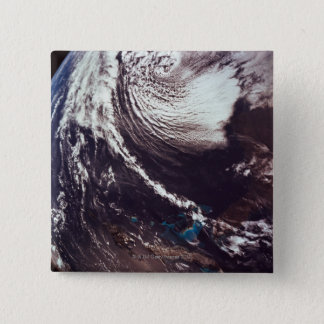 Weather Systems Above Earth Pinback Button