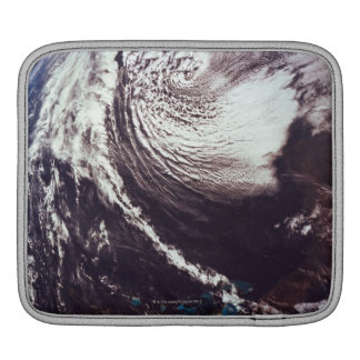 Weather Systems Above Earth Sleeve For iPads