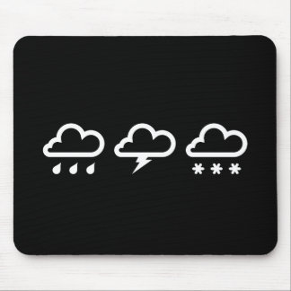 Weather Systems Pictogram Mousepad