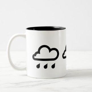 Weather Systems Pictogram Mug