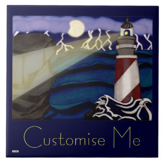 Weather the Storm Ceramic Tile