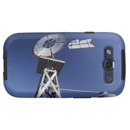 Weather vane and water tank, San Antonio, Texas, Galaxy S3 Case