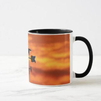Weather Vane at Sunset Mug