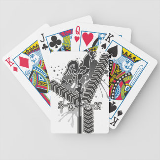Weather_Vane Bicycle Playing Cards