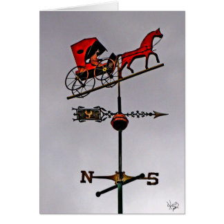 Weather Vane, Fredericksburg, TX Card