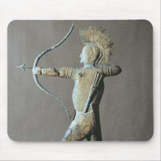 Weather vane in the form of an American Indian Mouse Pad