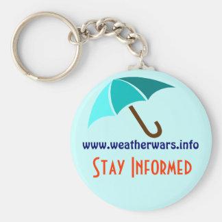 Weather wars keychain