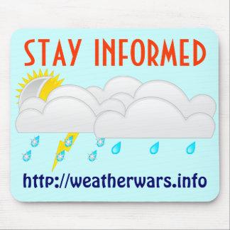 Weather wars mousepad
