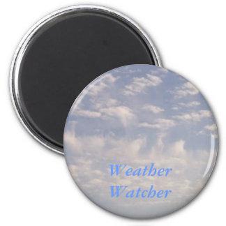 Weather Watcher 2 Inch Round Magnet