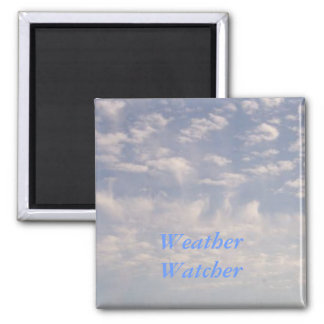 Weather Watcher 2 Inch Square Magnet