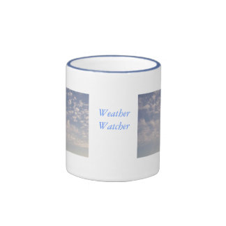 Weather Watcher Ringer Coffee Mug