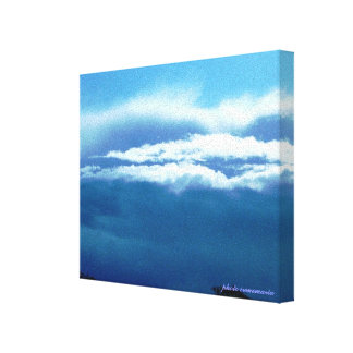 Weather Wrapped Canvas Stretched Canvas Print