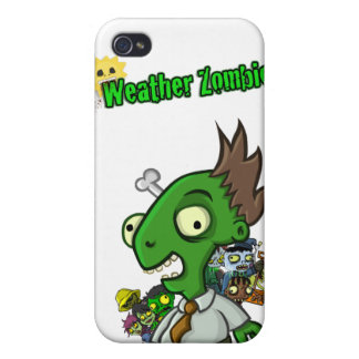 Weather Zombie iPhone Case