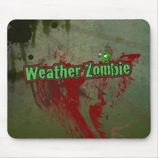 Weather Zombie Mouse Pad