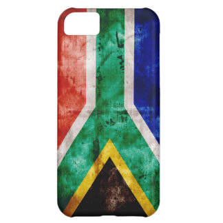 Weatherd South Africa Flag Case For iPhone 5C