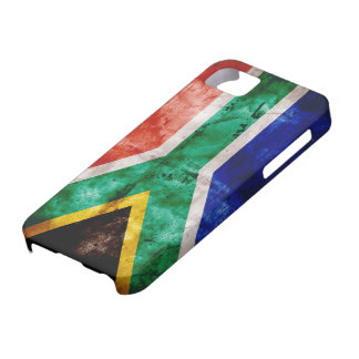 Weatherd South Africa Flag iPhone SE/5/5s Case