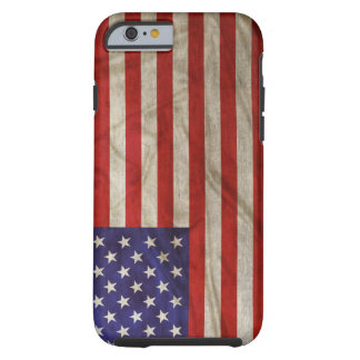 Weathered American Flag Tough iPhone 6 Case