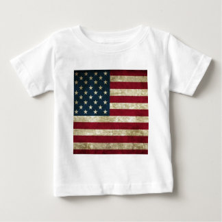 Weathered American Flag.png Baby T-Shirt