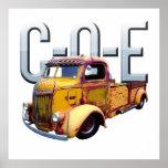 c-o-e, cab over engine, rusty vehicles, barn find,