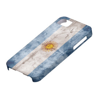 Weathered Argentina Flag iPhone SE/5/5s Case
