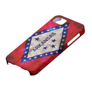 Weathered Arkansas Flag iPhone SE/5/5s Case
