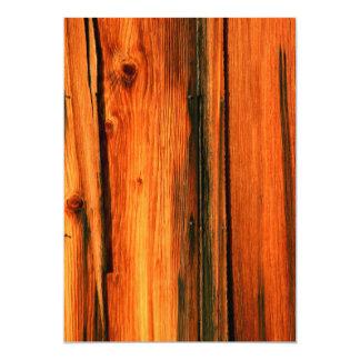 weathered barn boards card