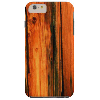 weathered barn boards tough iPhone 6 plus case