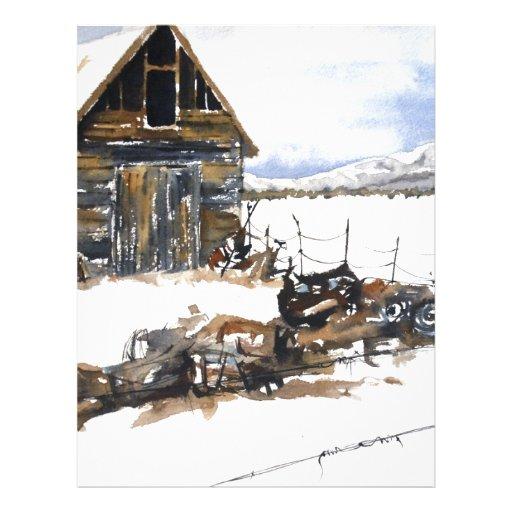 Weathered Barn Letterhead