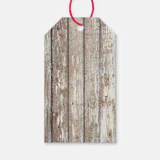 Weathered Barn Wood Gift Tags