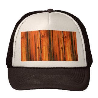 weathered barnwood trucker hat