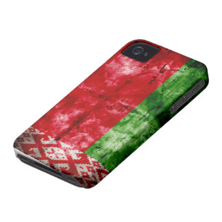 Weathered Belarus Flag Case-Mate iPhone 4 Case