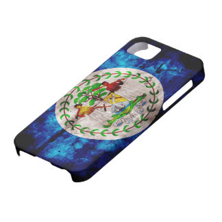 Weathered Belize Flag iPhone SE/5/5s Case