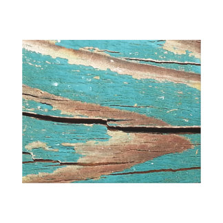 Weathered Blue Age Canvas Print