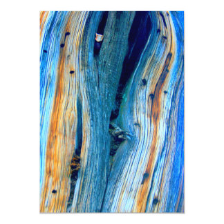 weathered blue  barn boards card