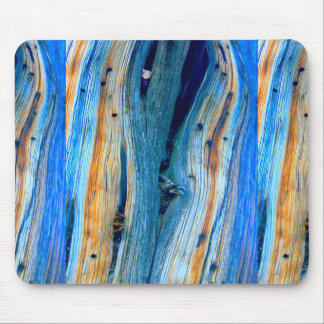 weathered blue barn boards mouse pad